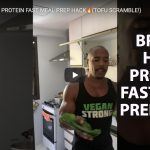 BRASIL HIGH PROTEIN FAST MEAL PREP HACK TOFU SCRAMBLE