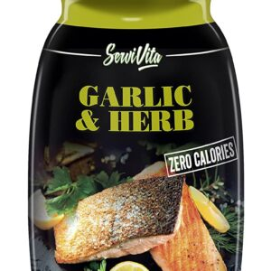 SERVIVITA ZERO CALORIES GARLIC & HERB SAUCE 10.6 FL Oz