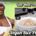 Homemade Vegan Rice Pudding