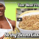 Just Veganize It! String Beans Casserole!
