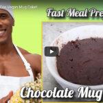 Soy and Gluten Fee Vegan Mug Cake!